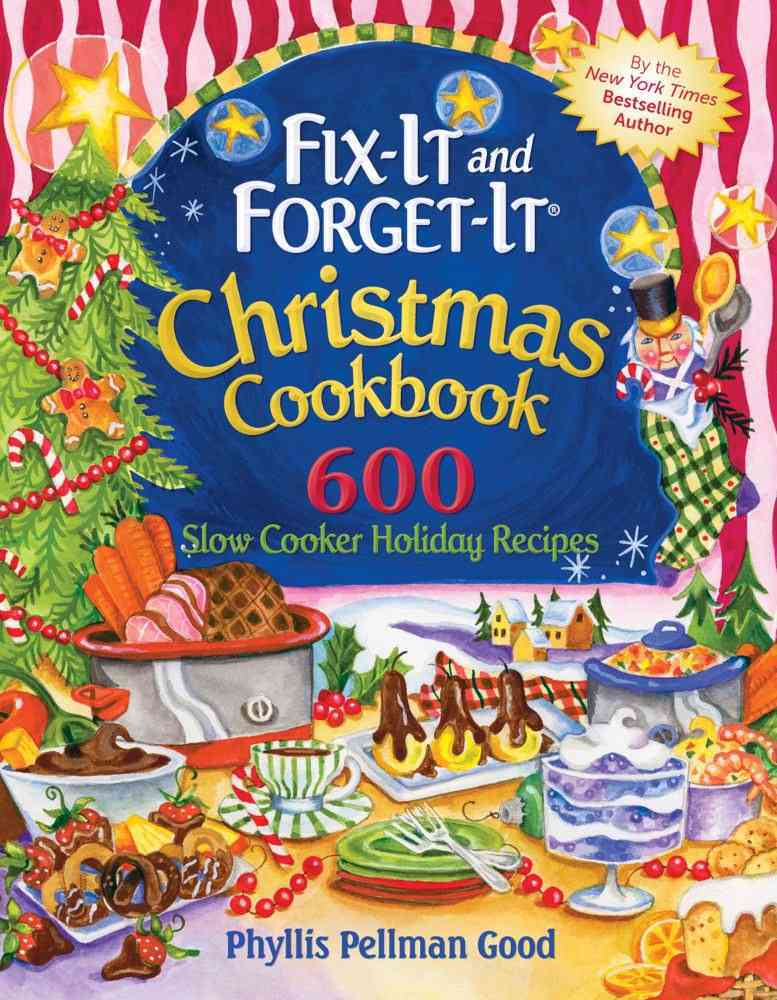 Fix-It and Forget-It Christmas Cookbook By Good, Phyllis Pellman