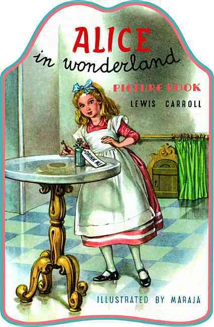Alice in Wonderland Picture Book By Maraja (ILT)